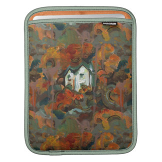 A White House & Autumn Trees Sleeve For iPads