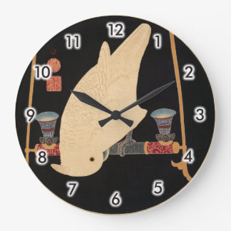 A White Macaw, Jakuchū Large Clock