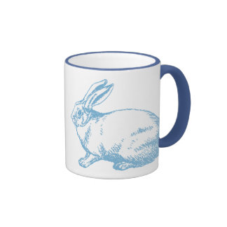 A White Rabbit Mug