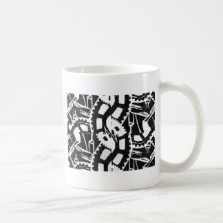A whole clockwork effect coffee mug
