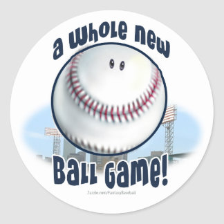 A Whole New Ball Game! Sticker