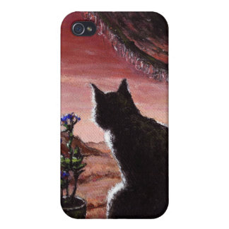 A Whole New World - Sci-Fi - Cat on Mars iPhone 4/4S Covers