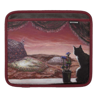 A Whole New World - Sci-Fi - Cat on Mars Sleeve For iPads