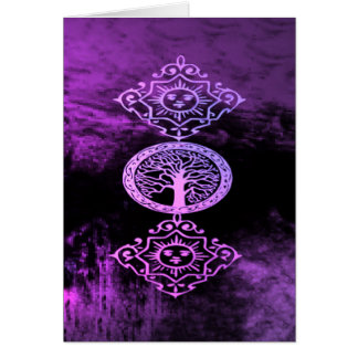 A Wiccan Blessing Greeting Cards