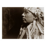 A Wichita Native American Indian man Poster