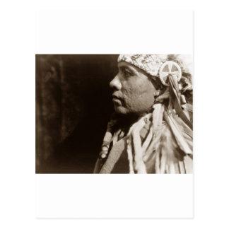 A Wichita Native North American Indian man Postcard