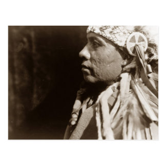 A Wichita Native North American Indian man Postcard