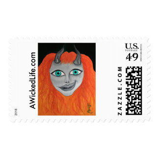 A Wicked Life Stamp
