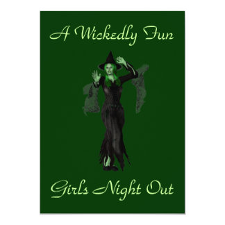 """""""A Wickedly Fun Girls Night Out"""" w/ Witch Card"""