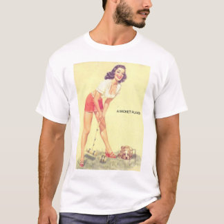 A Wicket Player T-Shirt