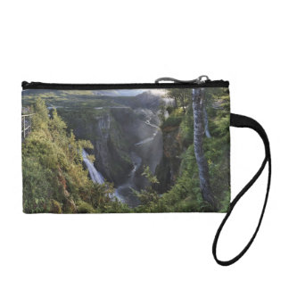 A wide evening view - Hordaland, Norway Coin Purse