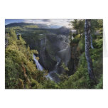 A wide evening view - Hordaland, Norway Stationery Note Card