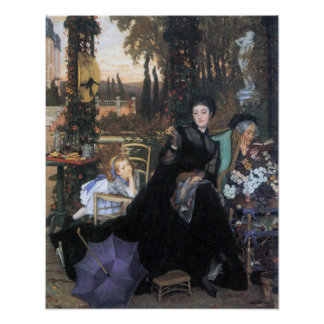 A widow by James Tissot Print