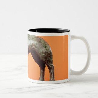 A wild boar, from Neuvy-en-Sullias Two-Tone Coffee Mug