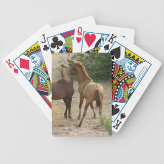 A Wild Horse Conversation Bicycle Playing Cards