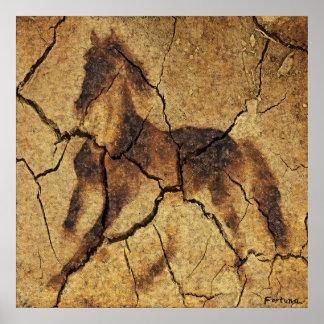 A wild horse poster