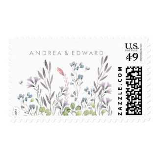 A Wildflower Wedding Postage