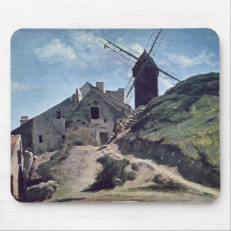 A Windmill at Montmartre, 1840-45 Mouse Pad