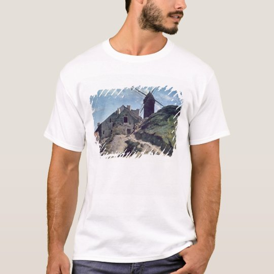 A Windmill at Montmartre, 1840-45 T-Shirt
