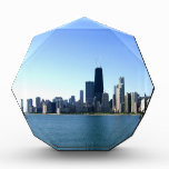 A Windy City Across the Lake Acrylic Award