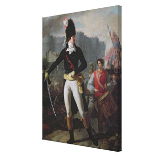 A Winner of the Bastille, 14th July 1789 Canvas Print