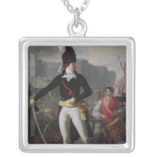 A Winner of the Bastille, 14th July 1789 Silver Plated Necklace