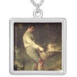 A Winnower, 1866-68 Pendant