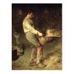 A Winnower, 1866-68 Postcard