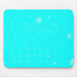 A Winter Background Mouse Pad