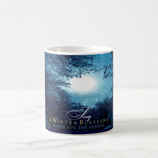 A Winter Blessing Classic White Coffee Mug