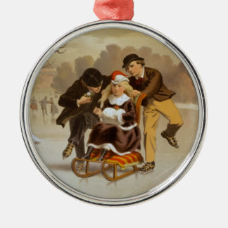 A Winter Courtship Christmas Ornament
