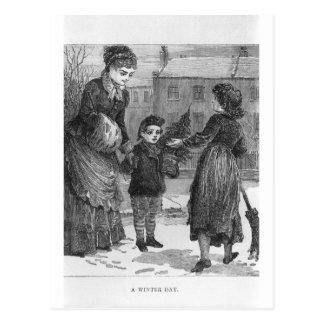 A Winter Day Postcard