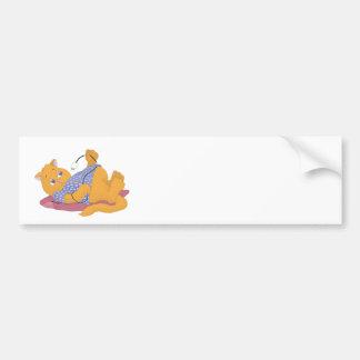 A Winter Love Affair Bumper Sticker