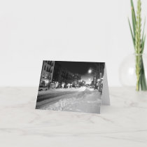 'A Winter Night in the City' Card - Christmas