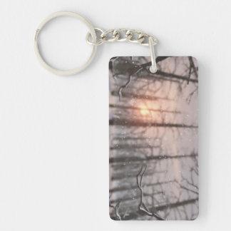 A Winter Night's Dream Acrylic Keychain