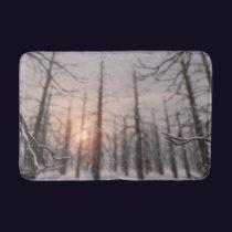 A Winter Night's Dream Bathmat