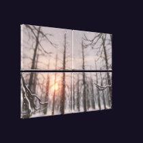 A Winter Night's Dream Canvas Print