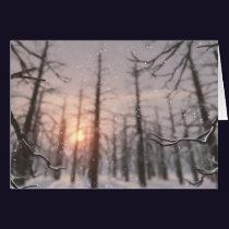 A Winter Night's Dream Card