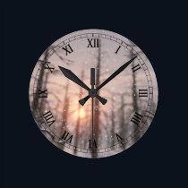 A Winter Night's Dream Clock