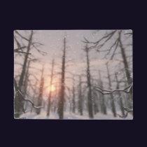 A Winter Night's Dream Doormat