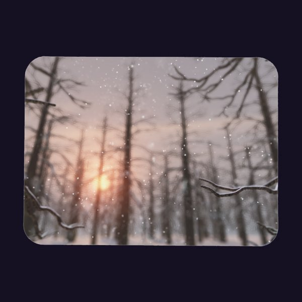 A Winter Night's Dream Flexible Magnet