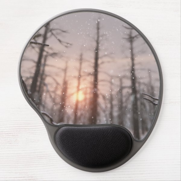 A Winter Night's Dream Gel Mousepad