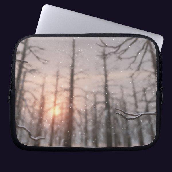 A Winter Night's Dream Laptop Sleeve