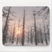 A Winter Night's Dream Mousepad