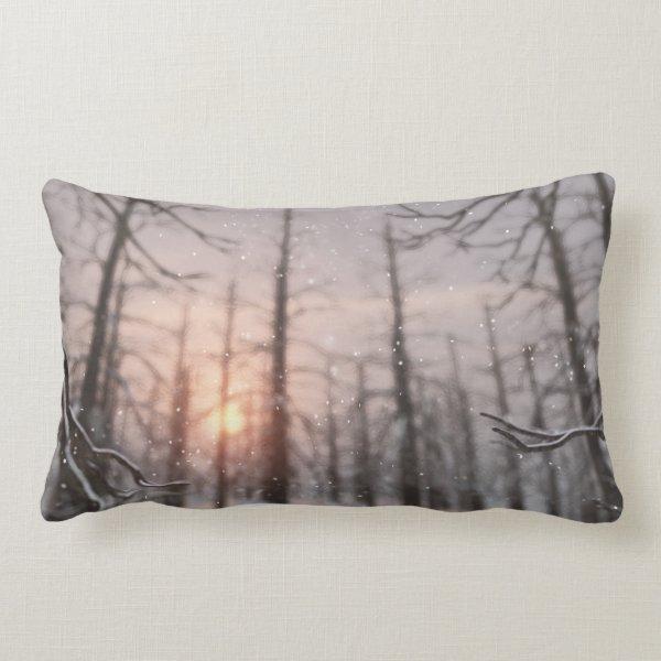 A Winter Night's Dream Pillow