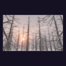 A Winter Night's Dream Stickers