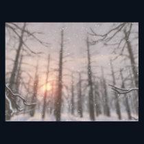A Winter Night's Dream Tablecloth