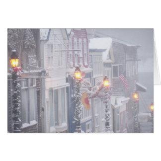 A Winter Scene Greeting Card