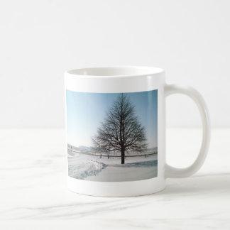 A Winter Tree in Iowa Coffee Mug