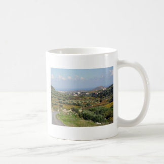 A Winter Walk on Crete Coffee Mug